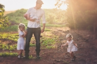 vintage farmer styled family photoshoot