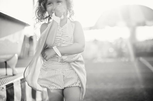 child romper trapeze performer costume