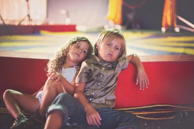 children at state fair